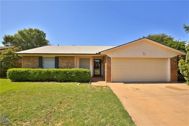 5449 Blue Quail Drive, Abilene, TX 79605