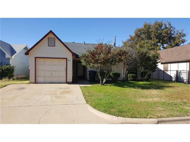 41 Shady Brook Circle, Abilene, TX 79605
