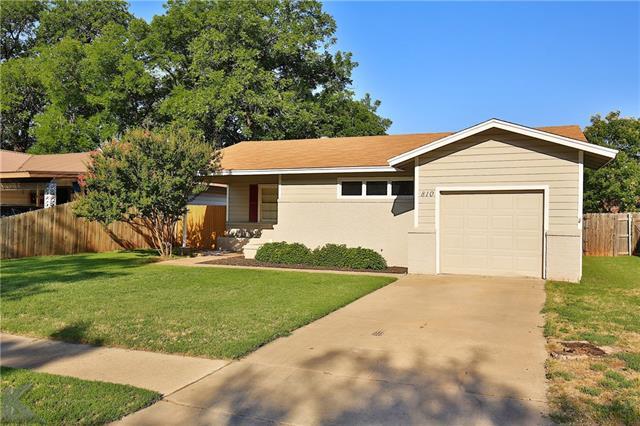 810 Woodlawn Dr, Abilene, TX 79603
