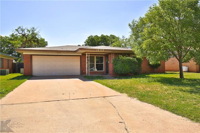 1749 N Willis Street, Abilene, TX 79603