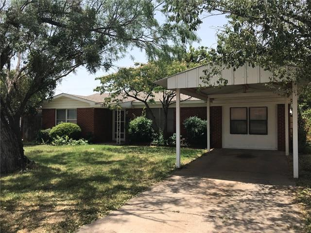 1282 Briarwood Street, Abilene, TX 79603