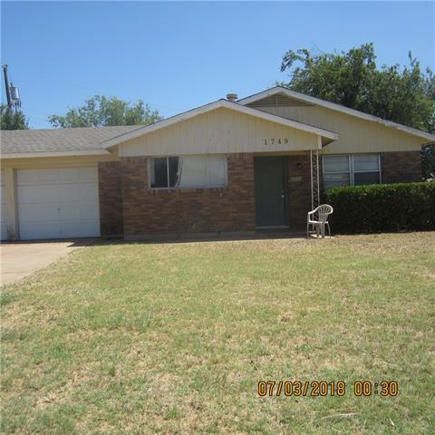 1749 Kimble Street, Abilene, TX 79605