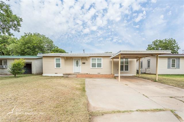 1310 S Bowie Drive, Abilene, TX 79605