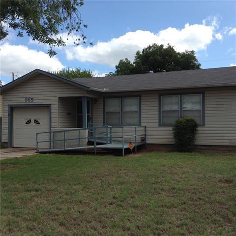 865 Burger Street, Abilene, TX 79603