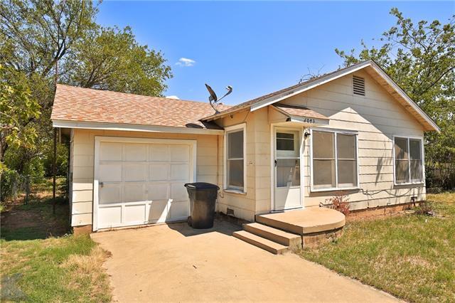 2841 Old Anson Road, Abilene, TX 79603
