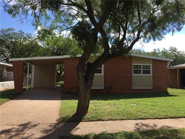 1701 Briarwood Street, Abilene, TX 79603