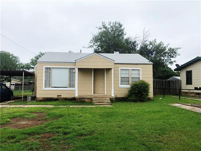1117 S Danville Drive, Abilene, TX 79605