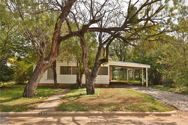 1533 Marshall Street, Abilene, TX 79605