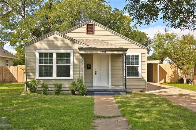 1958 Santos Street, Abilene, TX 79605