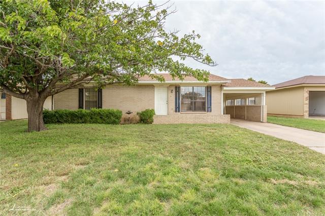 3749 Purdue Lane, Abilene, TX 79602