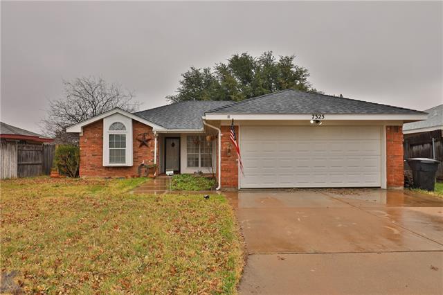 7325 Glenna Drive, Abilene, TX 79606
