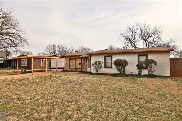 1341 S San Jose Drive, Abilene, TX 79605