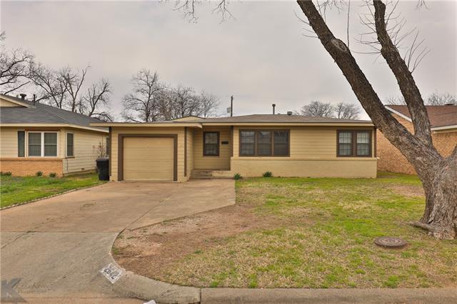 2642 S 22nd Street, Abilene, TX 79605