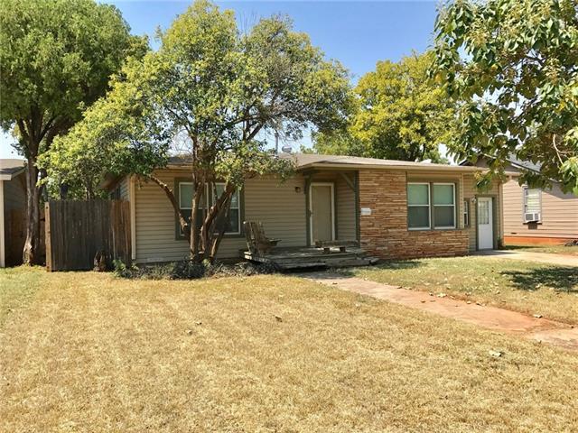 926 S Jefferson Drive, Abilene, TX 79605