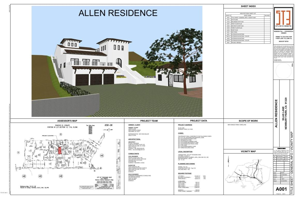 Silas Lane, Thousand Oaks, CA 91320