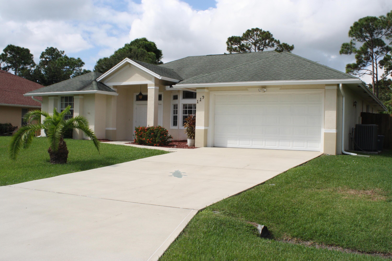 129 Se Fallon Drive, Port Saint Lucie, FL 34983