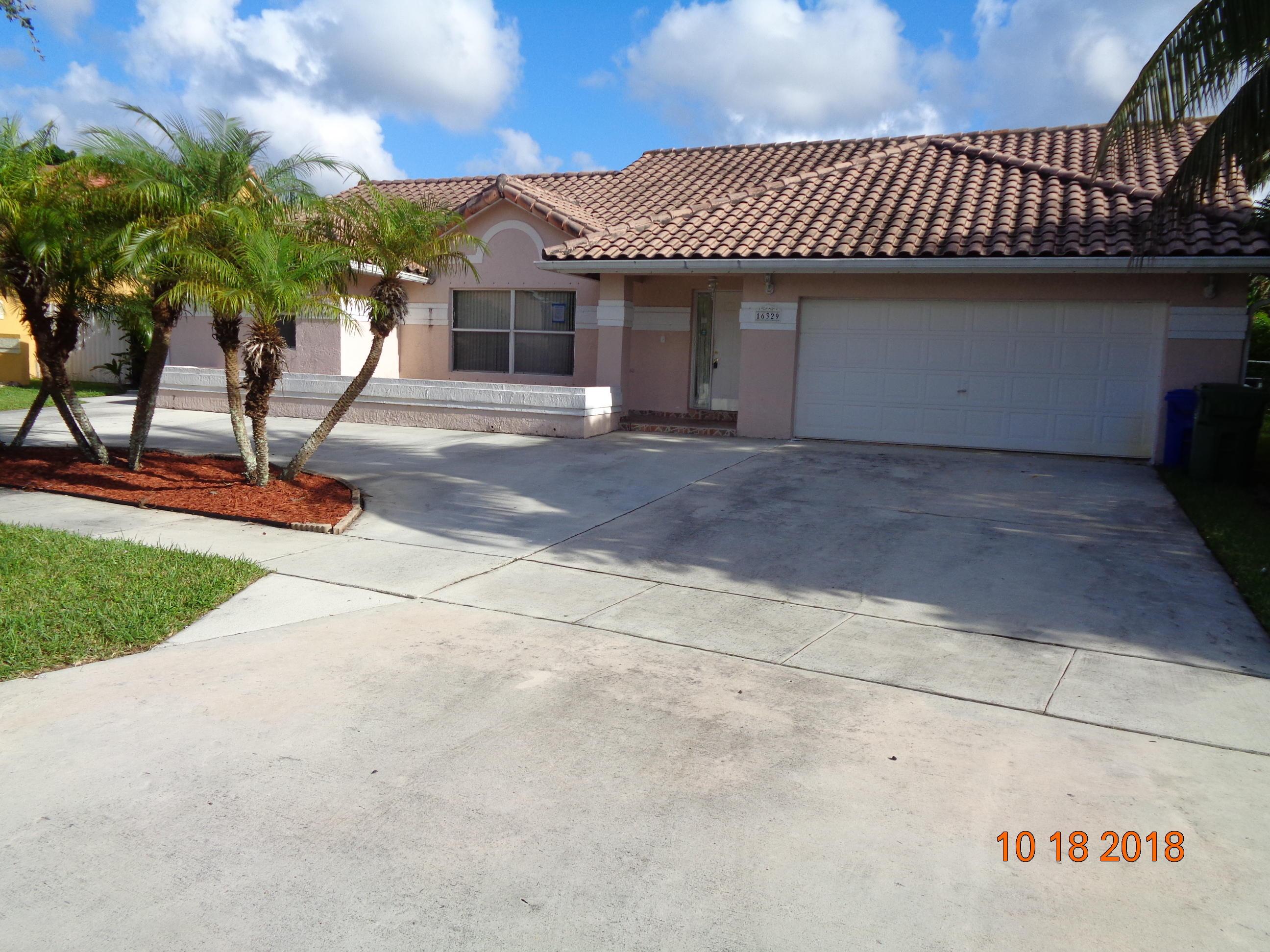 16329 Nw 16th Street, Pembroke Pines, FL 33028