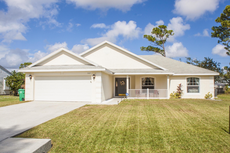 517 Nw Sherbrooke Avenue, Port Saint Lucie, FL 34953