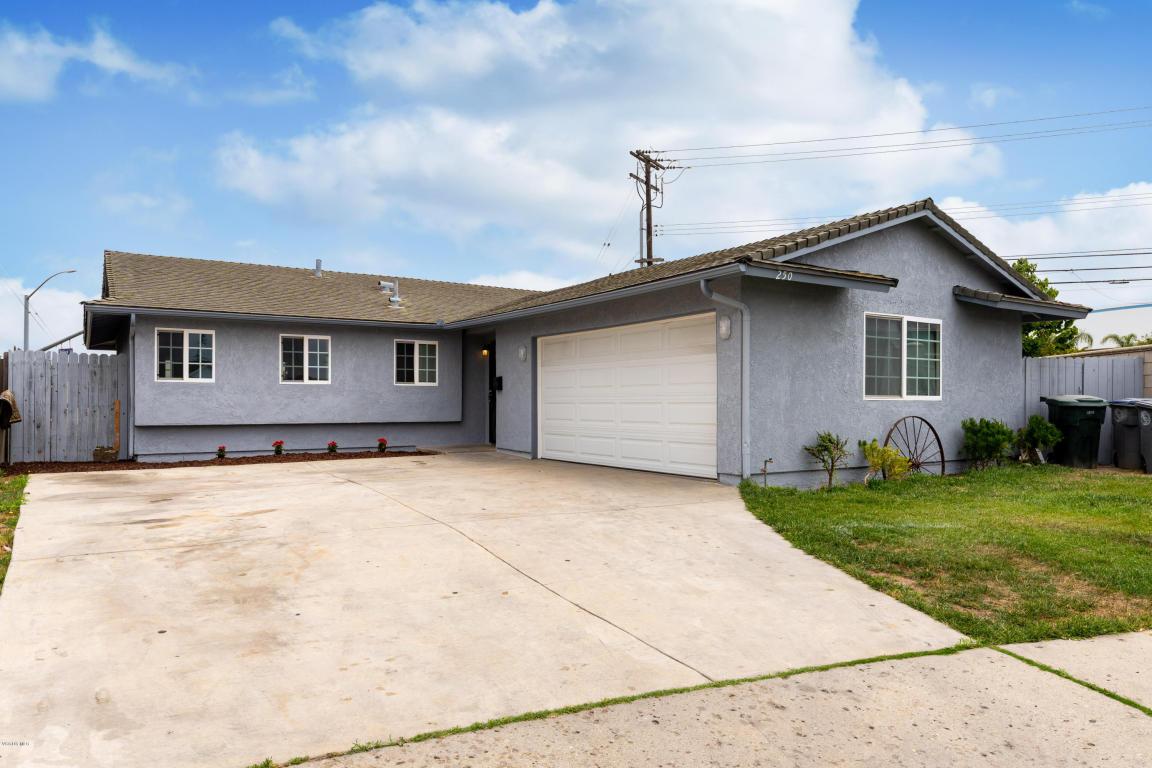 250 Sarita Drive, Oxnard, CA 93030