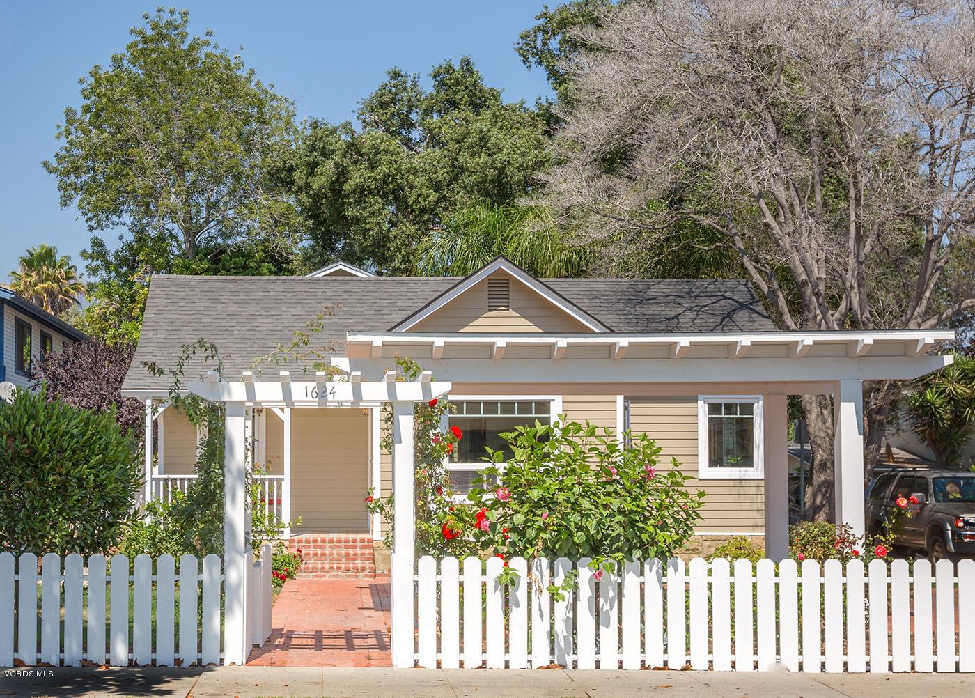 1624 San Andres Street, Santa Barbara, CA 93101