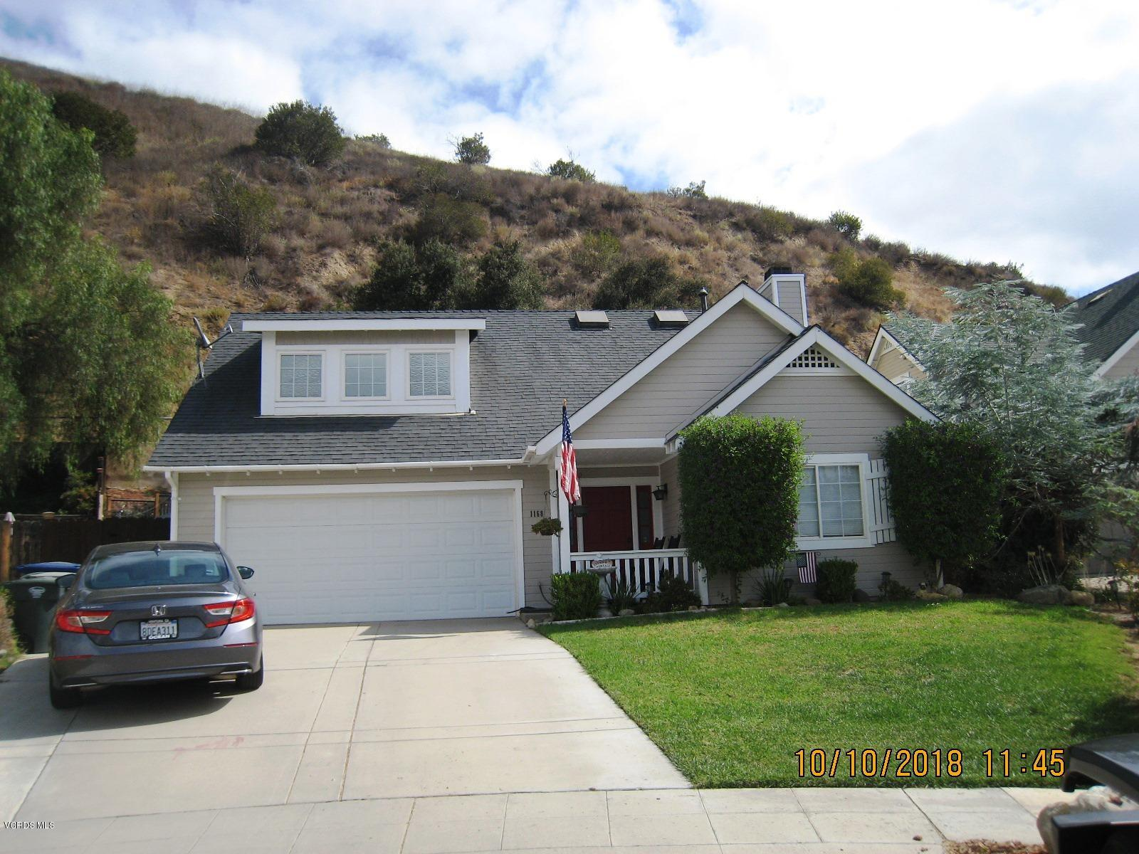 1168 Shady Lane, Fillmore, CA 93015
