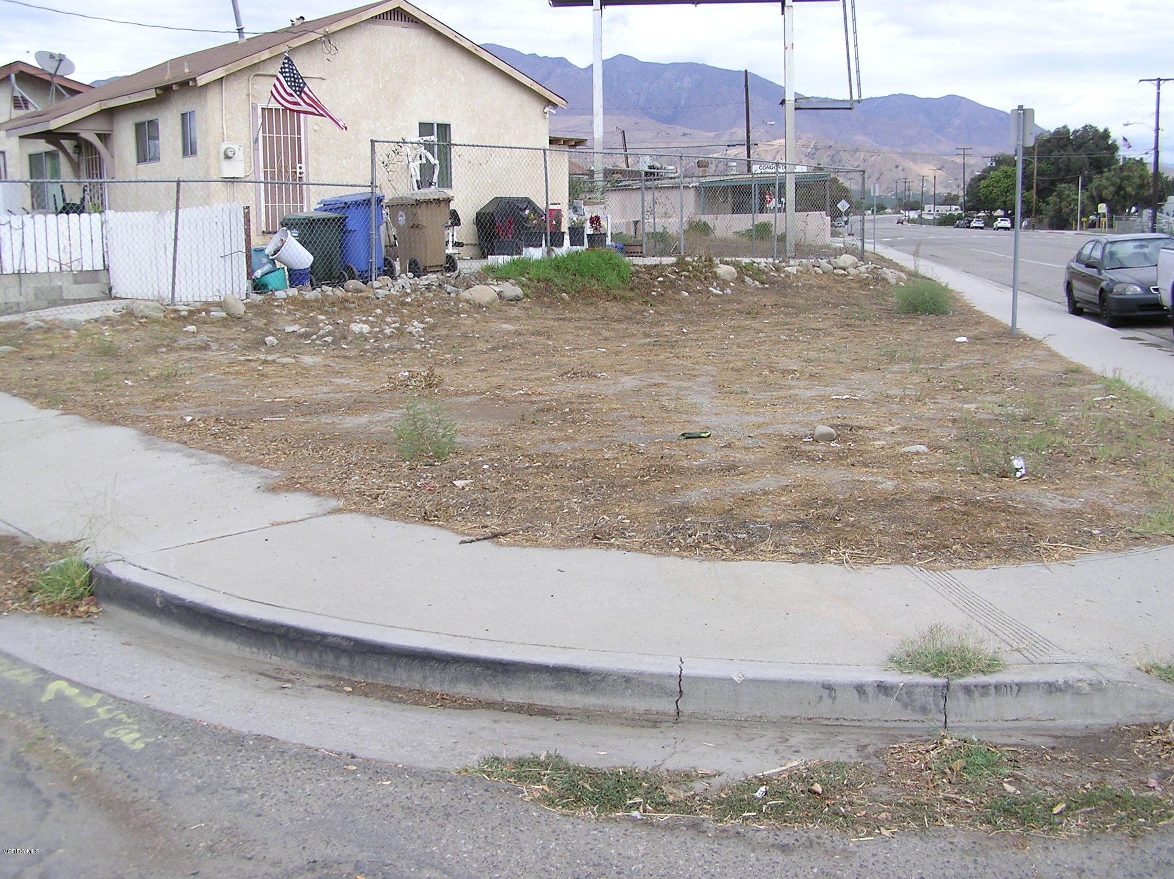 Harvard & S 13th St Corner, Santa Paula, CA 93060