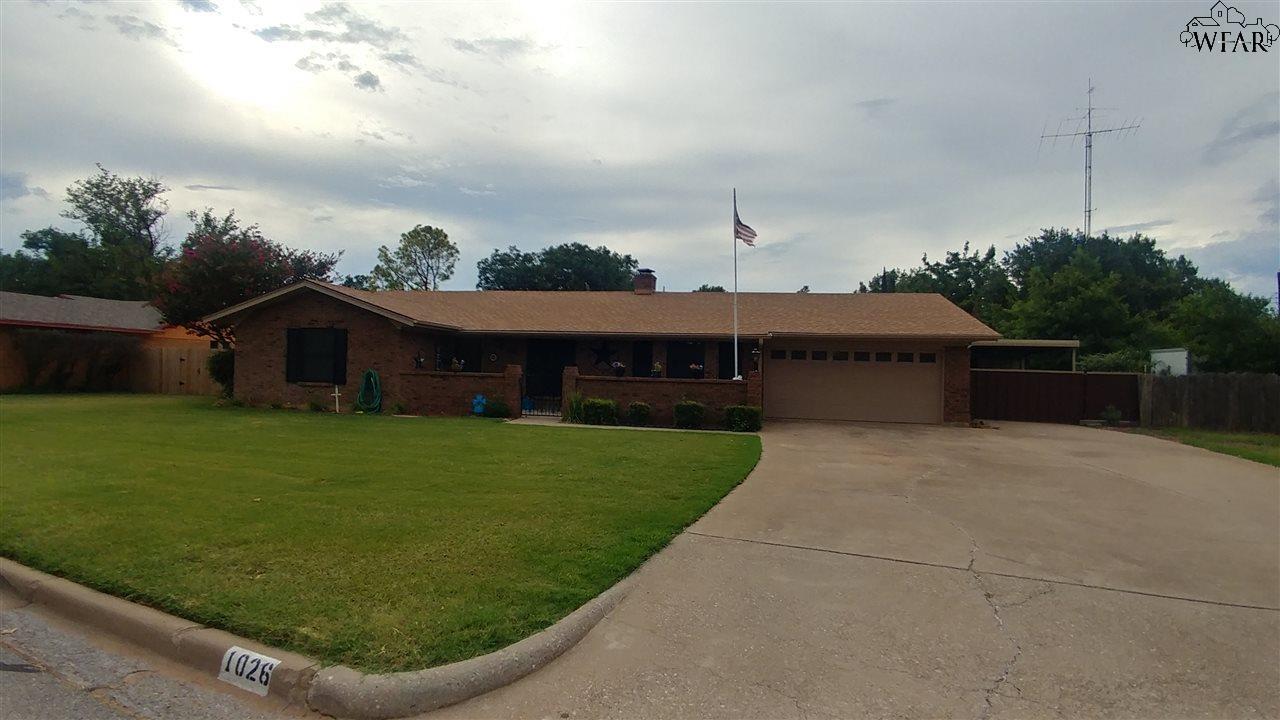 1026 Jan Lee Drive, Burkburnett, TX 76354
